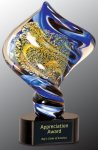 Diamond Twist Art Glass Award Artistic Awards