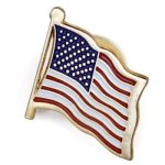 U.S.A. Flag Lapel Pin Custom Lapel Pins