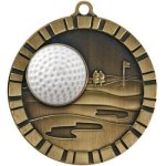 3-D IM Medals -Golf Golf Awards