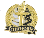 Bright Gold Academic Citizenship Lapel Pin Lapel Pins