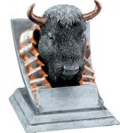 Mascot Resin Awards -Buffalo Mascot Resin Trophy Awards